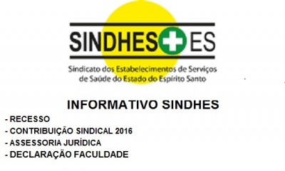 Recesso do SINDHES