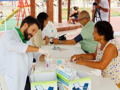 Saúde Cidadã na Praia de Jacareípe/ES foi um sucesso